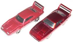 Furious 6 Custom 1969 Charger Daytona HW vs Jada